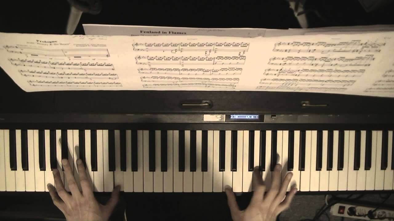 Beauty The Beast Prologue Piano Cover Alan Menken With
