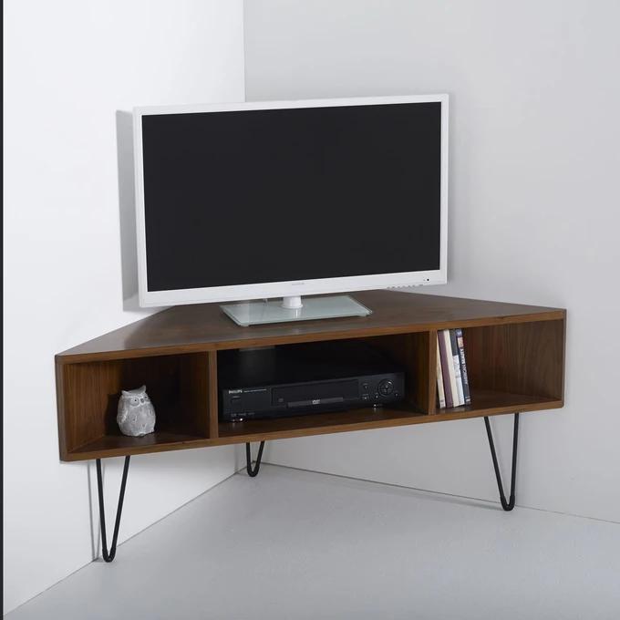 Meuble Tv D Angle Vintage Watford En 2020 Meuble Tv Angle Meuble D Angle Mobilier De Salon