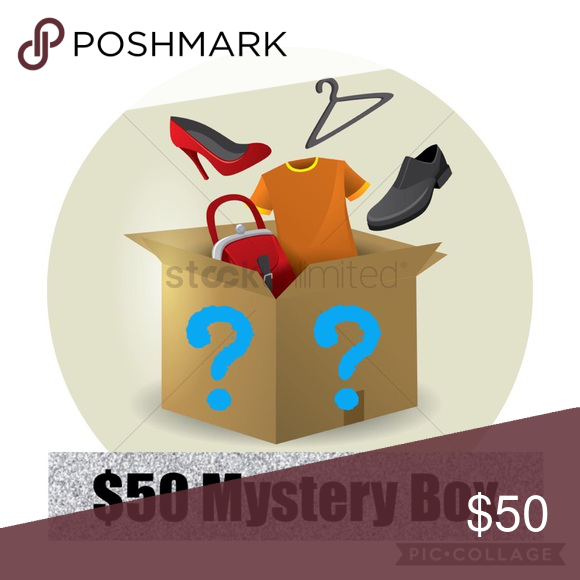 5 Item 50 Mystery Box Loaded With 5 Items Purchase A 50 Mystery Box And I Will Ship You Five Items Listed And Or Not Yet List Box Icon Mystery Box Greatful