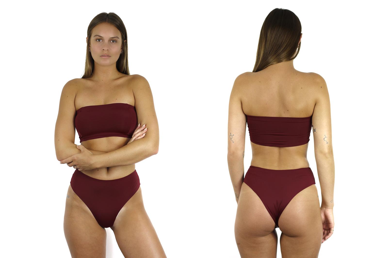 0bb1cde694a1a Kourtney Kardashian Bares Her Badonk in High-Waist Thong Bikini -  Cosmopolitan.com