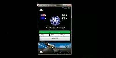 Playstation Network Card Codes