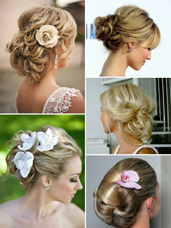 Romantic Updo With Your Short Hair Easy Updos For Short Hair Hair