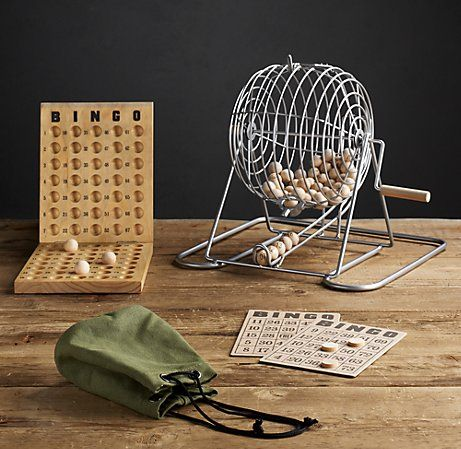 vintage bingo game- my kids will have this