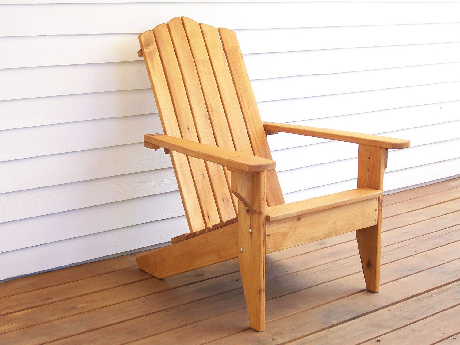 Adirondack Wood Chair, Adirondack Furniture, Outdoor Wood Furniture, Wood Deck  Furniture, Patio Wood Furniture, Deck Chair, Garden Chair