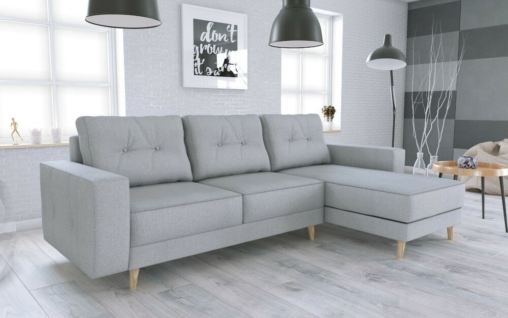 Couch Garnitur Ecksofa Sofagarnitur Sofa Vincent L Schlaffunktion Wohnlandschaft Ebay Home Decor Home Furniture