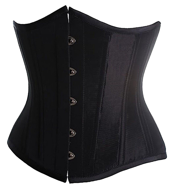 fe216d87f9 Amazon.com  Alivila.Y Fashion Womens Sexy Satin Vintage Underbust ...