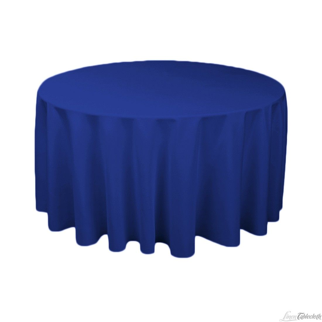 Buy 120 Inch Round Royal Blue Tablecloth For Weddings At LinenTablecloth!  Seamless And Machine Washable