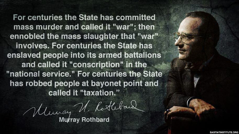 Murray Rothbard - Anatomy of the State | Anarchy in Progress ...