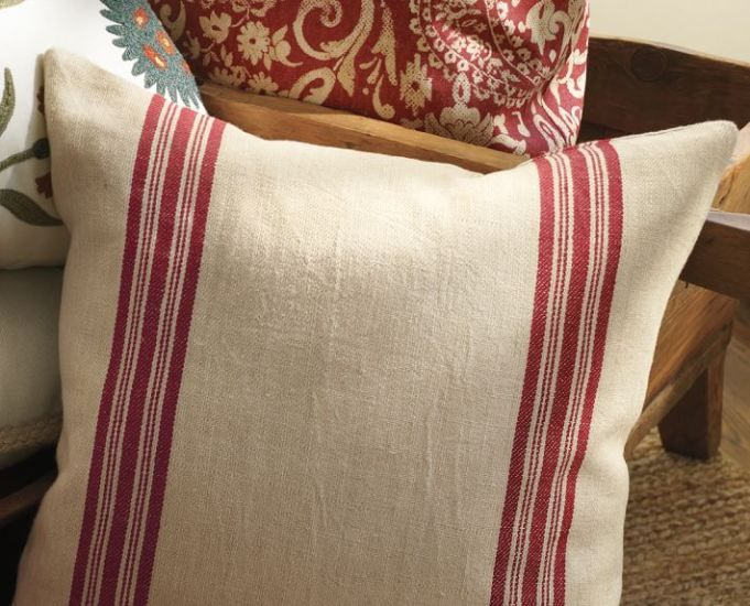 How To Make Pillow Covers With A Dish Towel No Sew