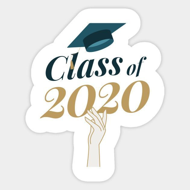 Photo of Class Of 2020 Hat Toss – Graduation Gift – Sticker | TeePublic