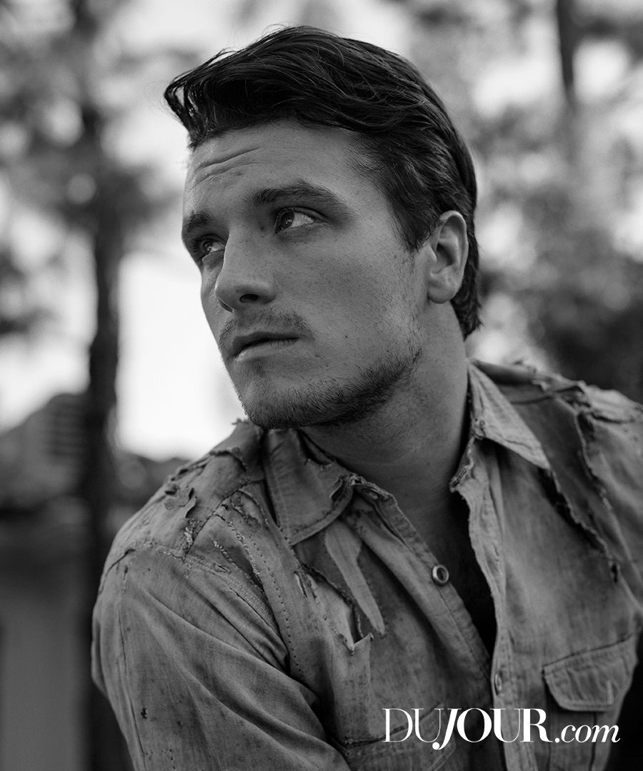 "The ""Hunger Games"" star gets candid about on-set antics, cast sleepovers and long-distance love. Josh Hutcherson is wearing: Vintage shirt, price upon request, WHAT GOES AROUND COMES AROUND."