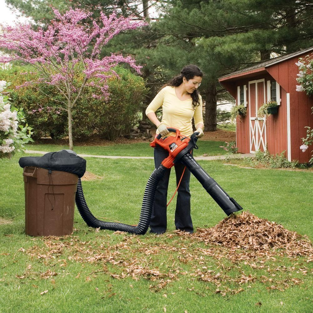 Blower Vacuum Leaf Collection System : Black decker leaf collection system attachment for all