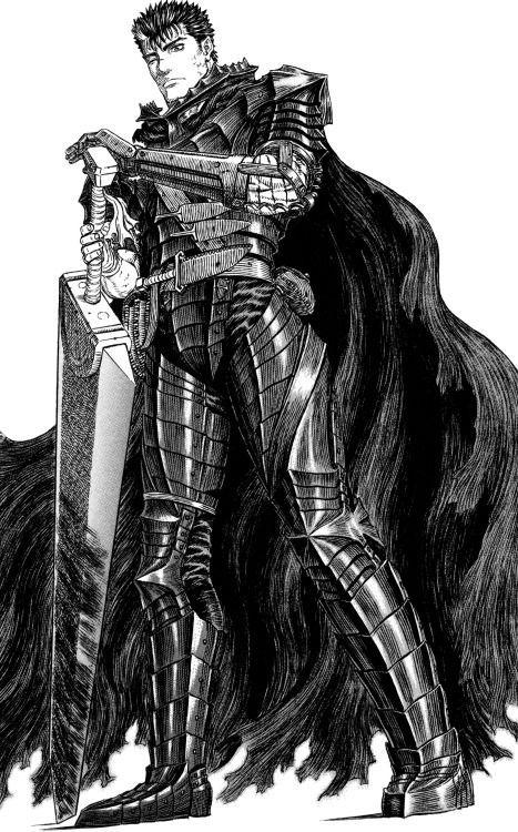 Guts From The Berserk Manga My Blog Berserk Manga Kentaro Miura