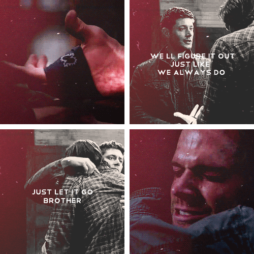 """(gif set) """"We'll figure it out. Just like we always do. Just let it go, brother."""""""