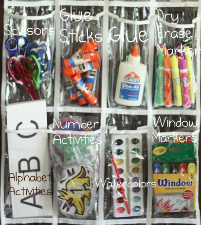 School And Craft Supply Storage...using This On The Door To My New Craft/school  Supply Closet. Buy Things On Clearance And Store Until Needed.