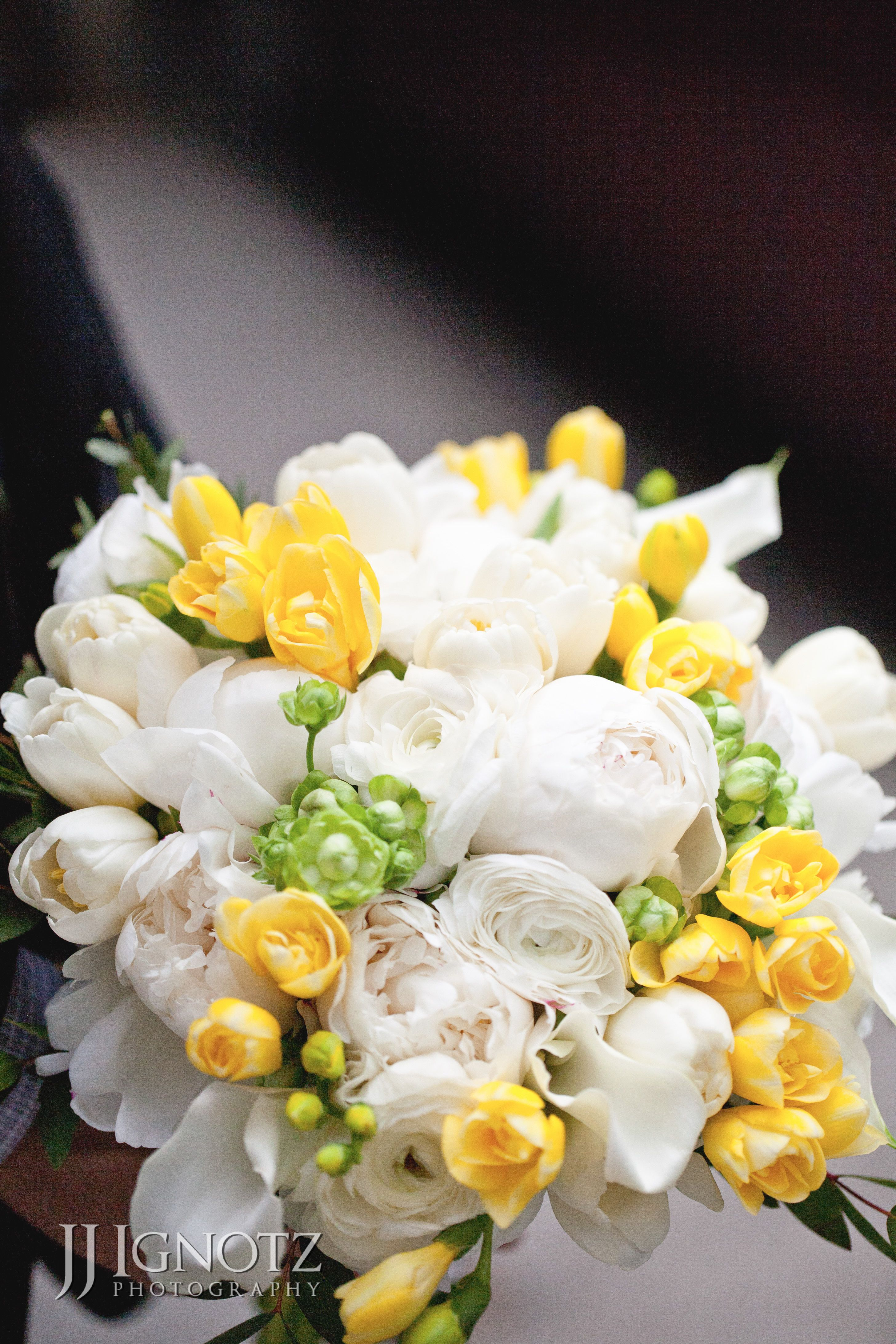 White And Yellow Flower Bouquet For That Special Day Wedding