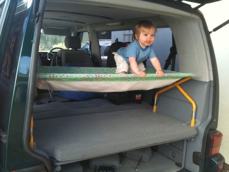 vw t4 multivan photo 06 camion pinterest am nagement lit enfant et hamac enfant. Black Bedroom Furniture Sets. Home Design Ideas