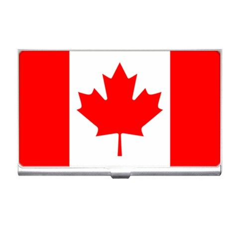 Canada flag our silver plated business card holder measures 3 12 x canada flag our silver plated business card holder measures 3 12 x 2 reheart Image collections