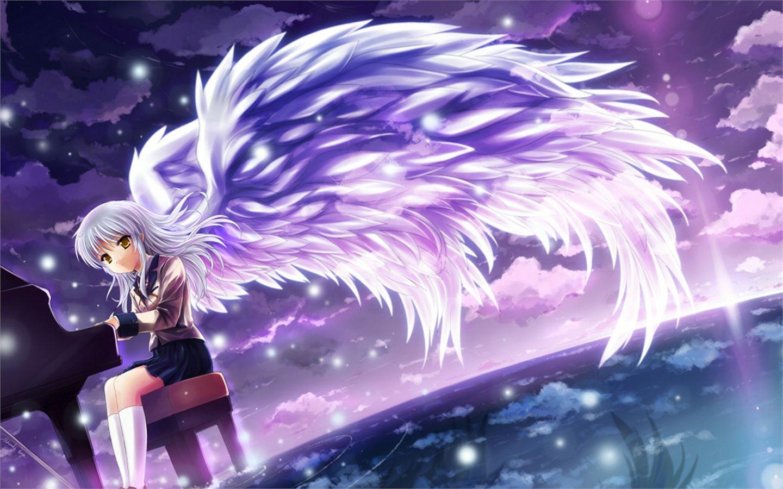 Angel Beats Computer Wallpapers Desktop Backgrounds 1440x900 Id 258912 Angel Beats Anime Angel Beats Wallpaper