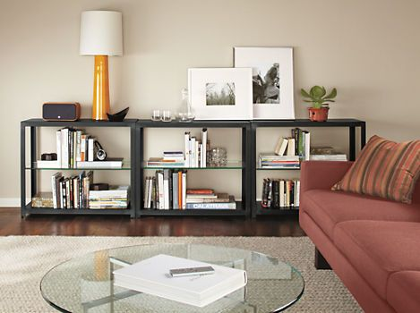 Burton Console Bookcase - Bookcases & Shelves - Living - Room & Board