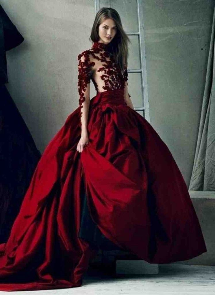 Red Wedding Dresses Kleinfeld Red Wedding Dresses Beautiful