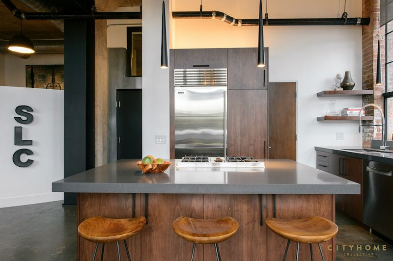 gothic-industrial-loft-13   For Mi Casa   Pinterest