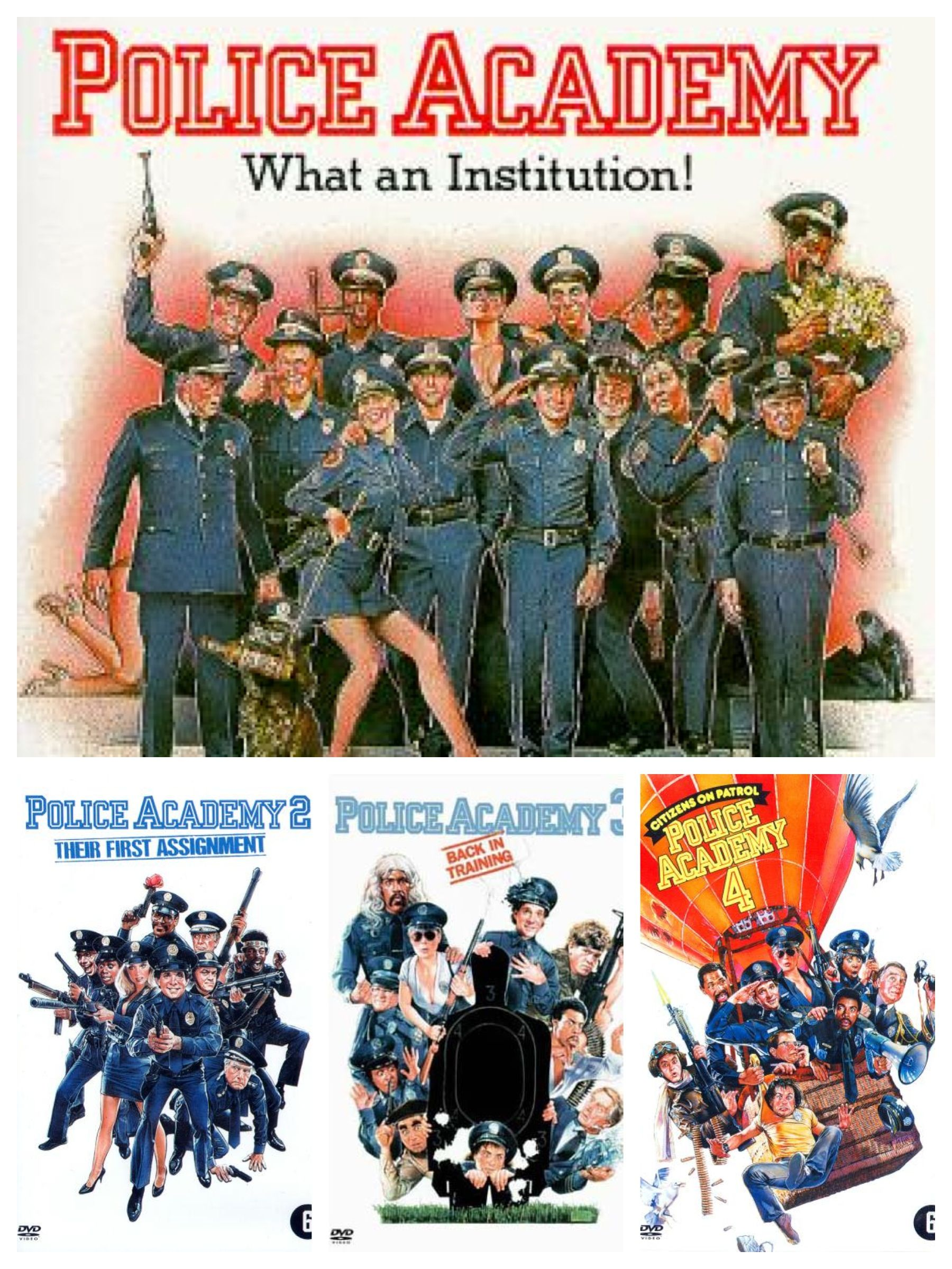 Police Academy This Is The American Comedy Movie That My First Watch When I Was A Child Soooo Funny