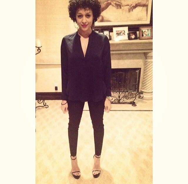 Tia Mowry #curls