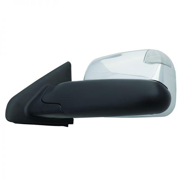 Efxmrdod02mc 2002 2008 Dodge Ram 1500 2003 2009 Ram Hd Manual Flip Up Vertically Turn Signal Chrome Cap Backrest Pillow Towing Chrome