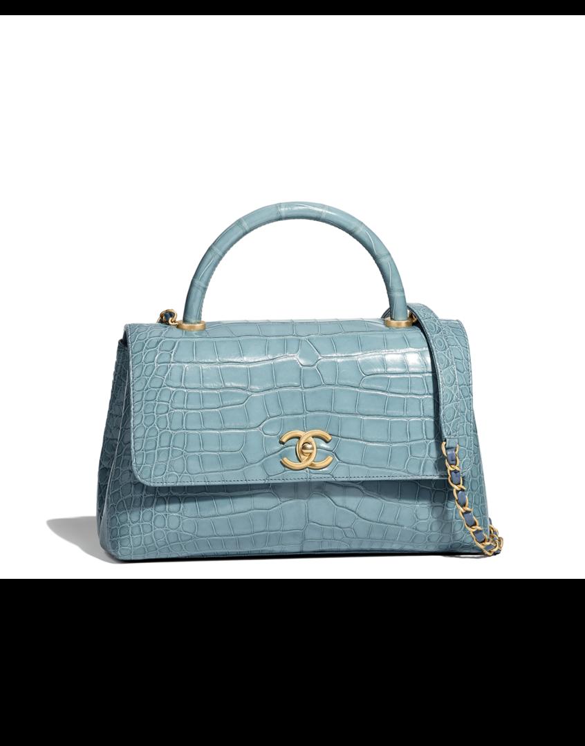 Flap bag with top handle bc23e25b16ea3