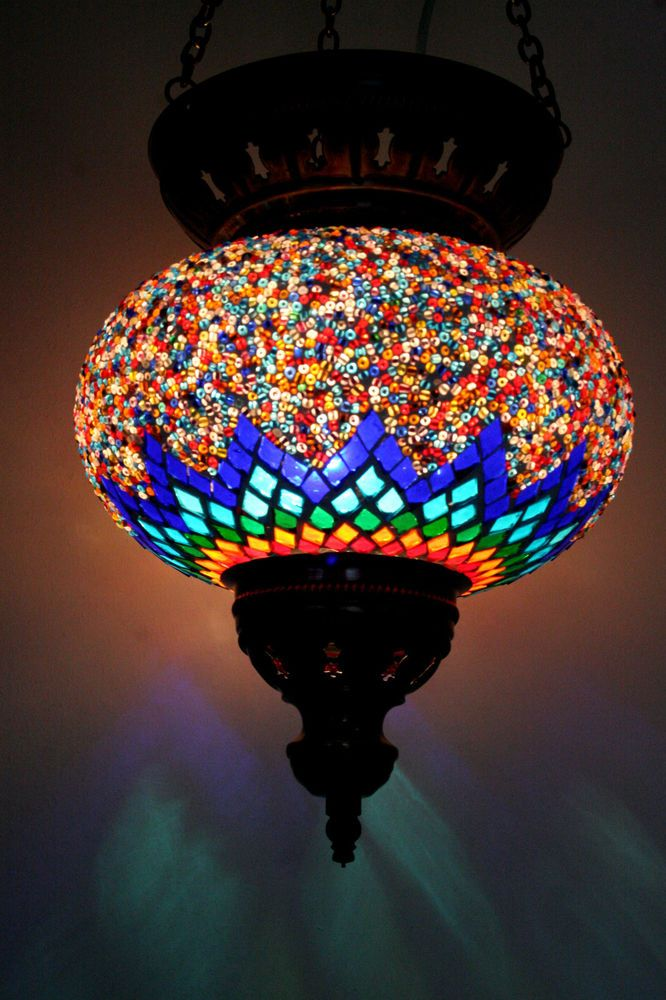 Extra large turkish moroccan mosaic hanging lamp shade pendant extra large turkish moroccan mosaic hanging lamp shade pendant lantern xmas gift aloadofball Image collections