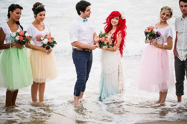 If Ariel And Prince Eric Got Married Irl This Is What It Would
