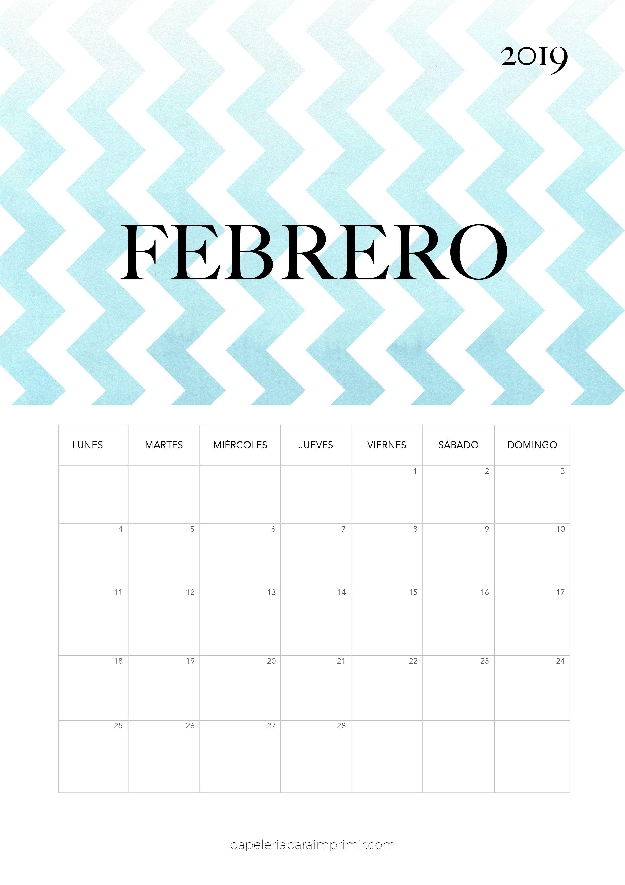 Calendario 2019 Moderno.Calendario 2019 Diciembre Planificadores T Bullet
