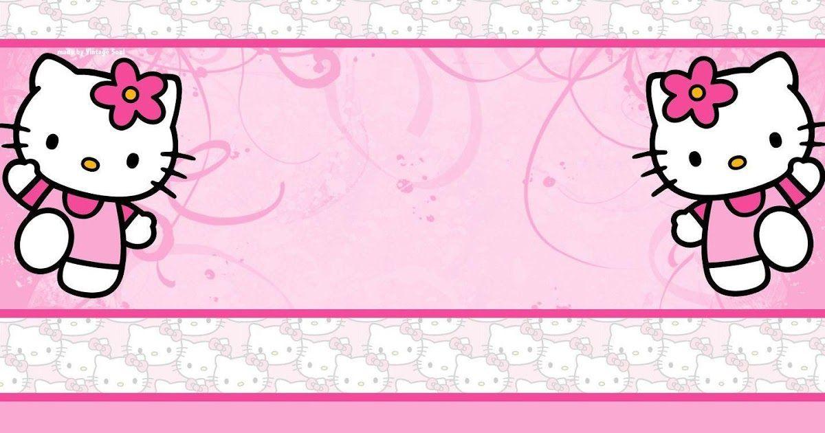 Wallpaper Hello Kitty Ungu