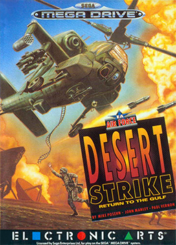 Desert Strike Return to the Gulf Mega Drive by