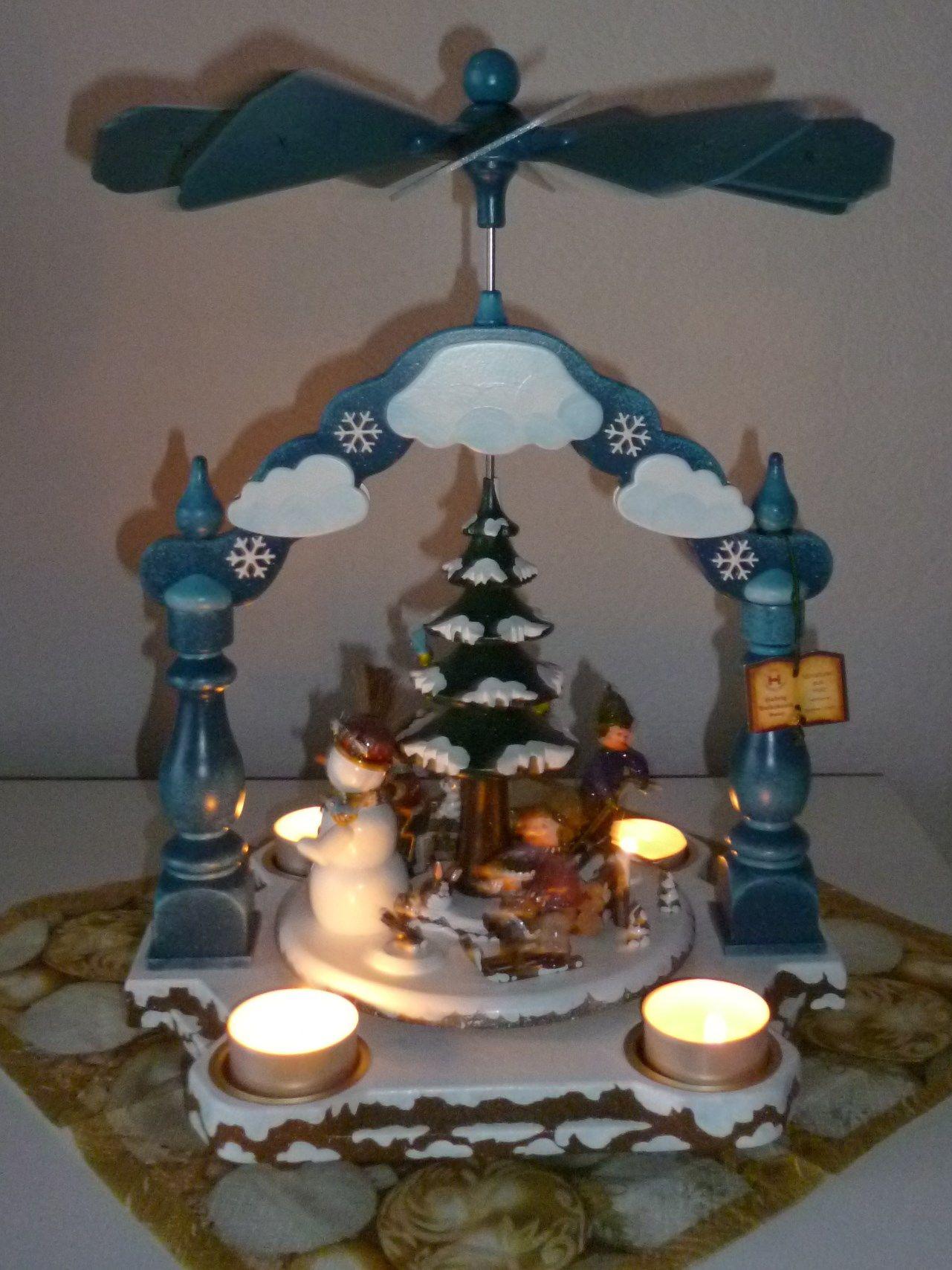 Engel Drilling Deko 3 in 1 Stern Herz Blume  26 cm Engel Nostalgie Weihnacht 20