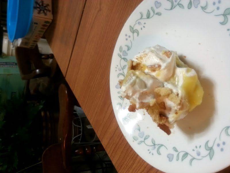 Poke Cake Banane