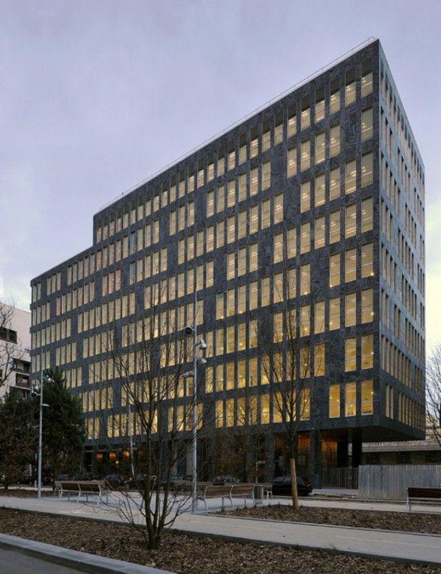 Oab ferrater edificio de oficinas en boulogne for Casa moderna zwolle