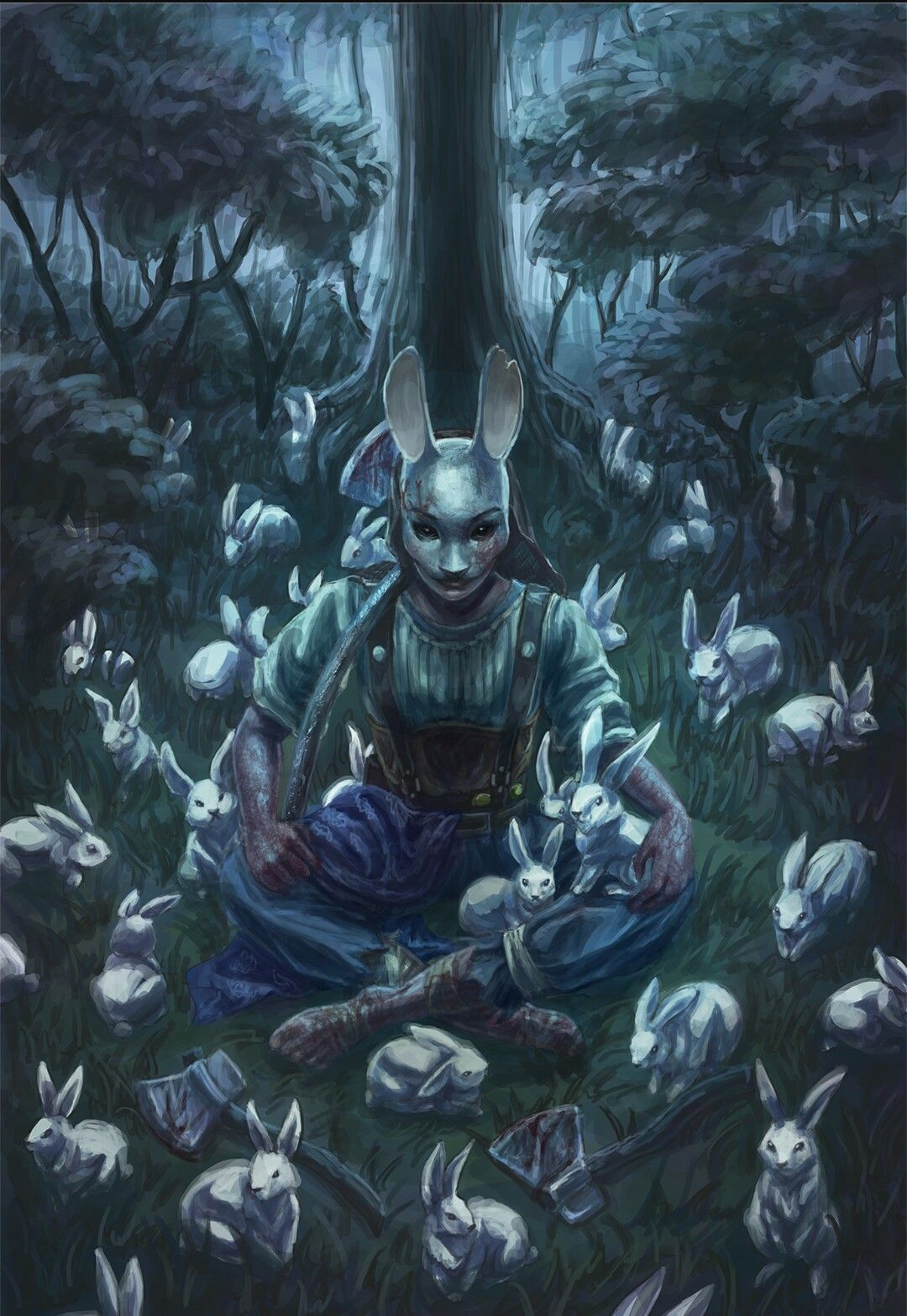 Dead By Daylight The Huntress Horror Characters Huntress Horror