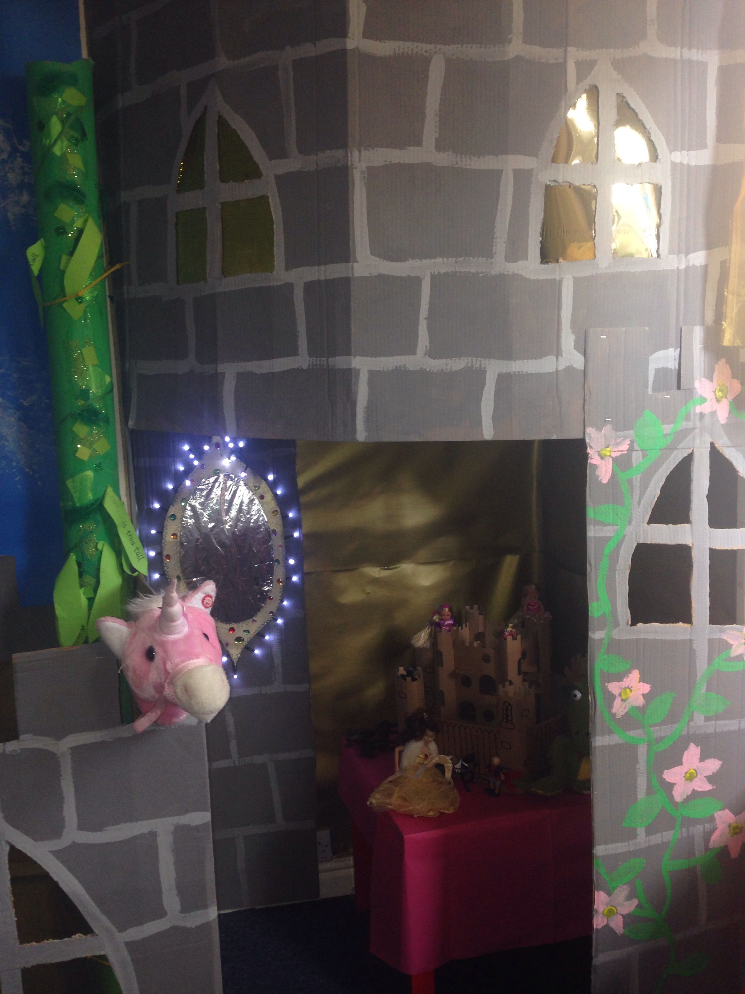 fairytale castle role play area | education | pinterest | role