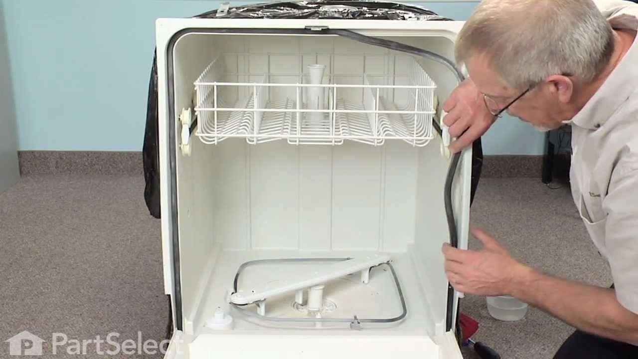 Dishwasher Repair Replacing The Latch Gasket Kit Frigidaire Part 5304442173 Dishwasher Repair Dishwasher Cover Diy Kitchen Remodel