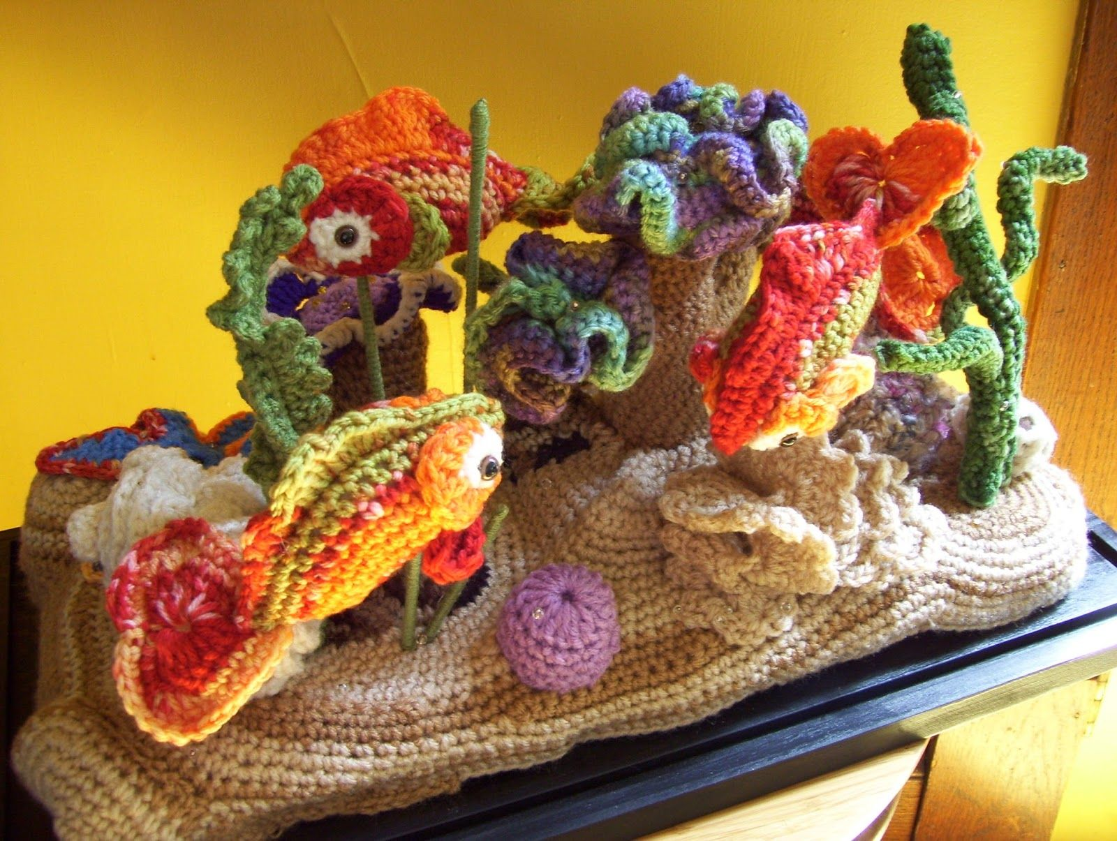 crocheted coral fish - Bing images | Crochet fish | Pinterest ...