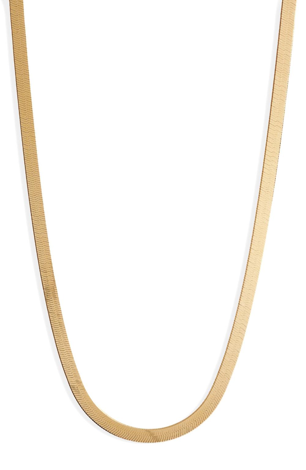 Argento Vivo Herringbone Chain Necklace   Nordstrom