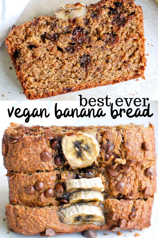 Vegan Banana Bread Gluten Free Erin Lives Whole Recipe Vegan Banana Bread Gluten Free Banana Bread Vegan Banana