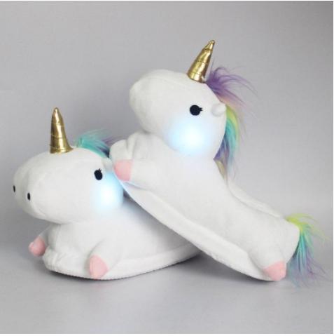 unicorn slippers next