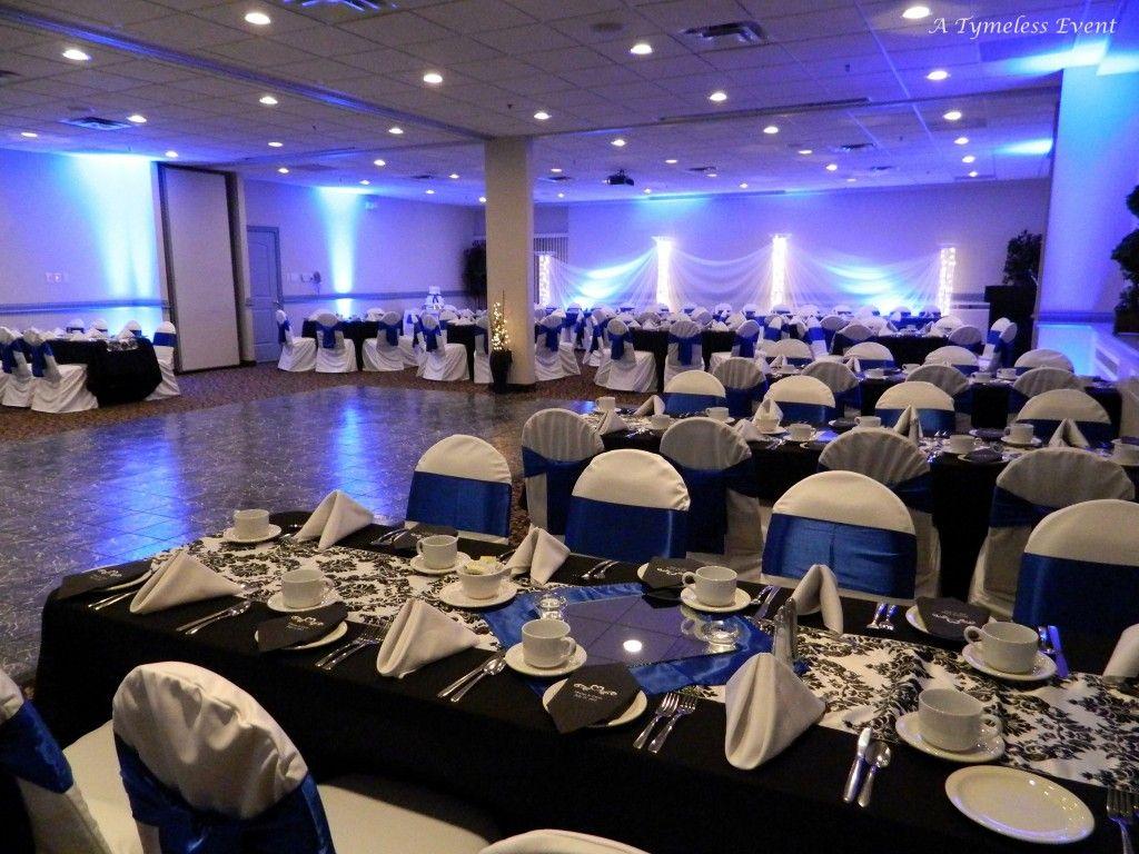 Royal Blue Black And White Cobalt Blue Weddings Blue