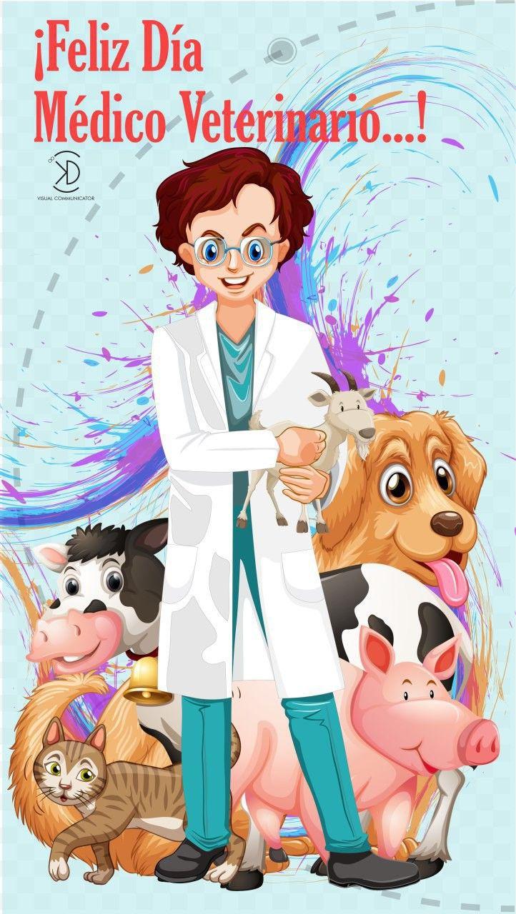 Dia Del Medico Veterinario Kdvisualcommunicator Dia Del Medico Veterinario Dia Del Veterinario Veterinaria