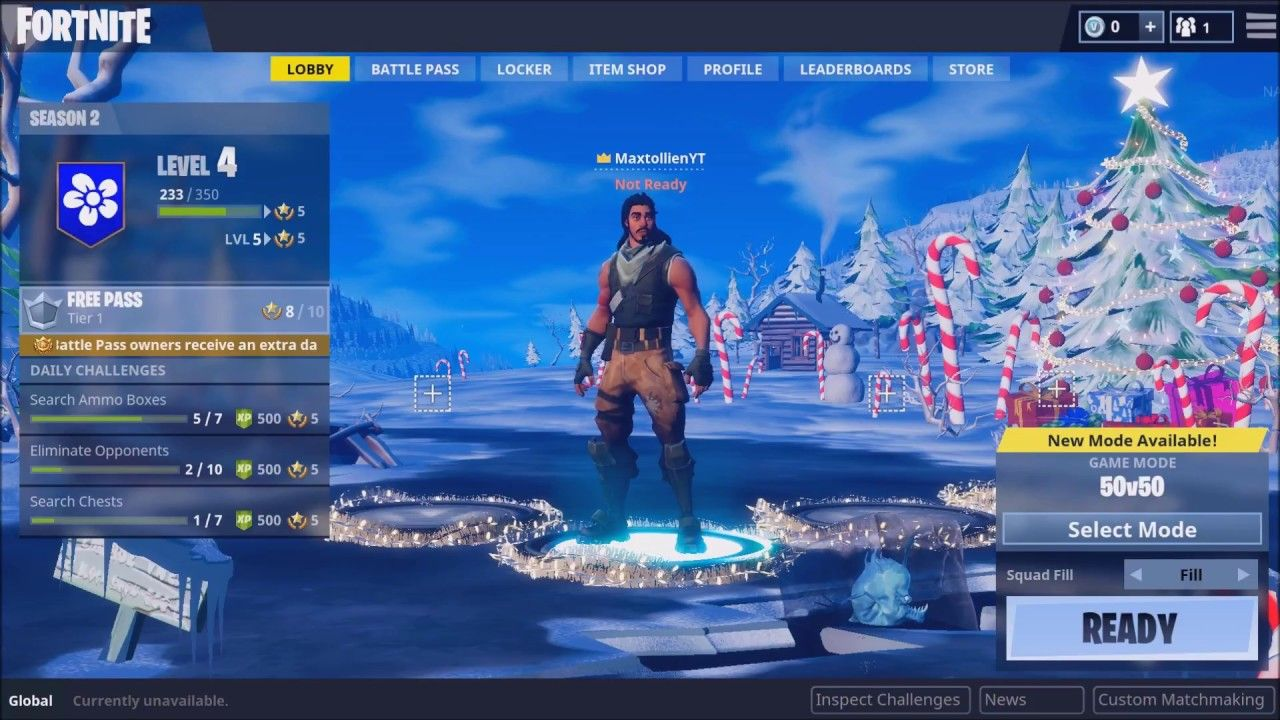 Fortnite Winter Update New Gun Map And 50v50 Mode Fortnite