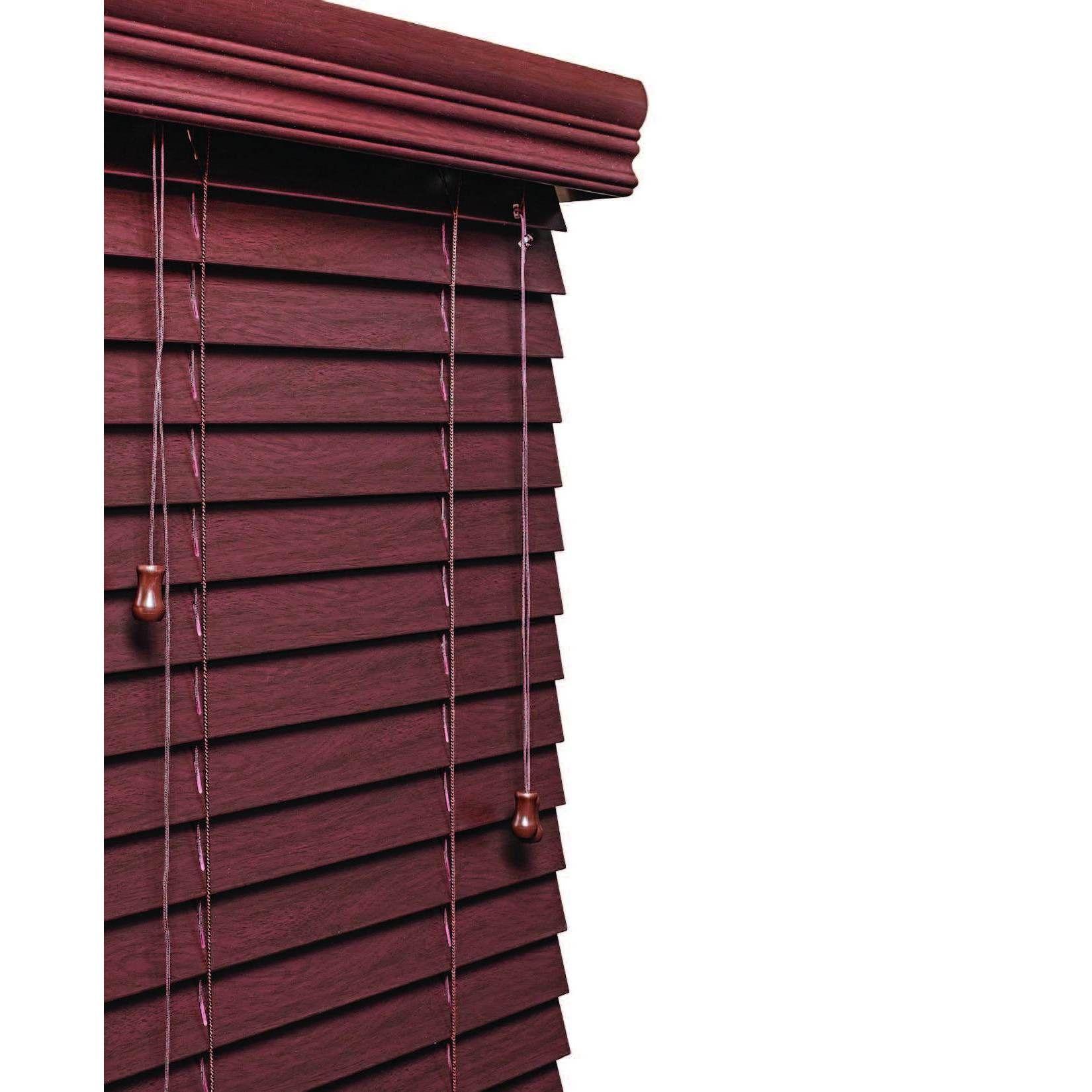 72 inch wide blinds home furnishings mahogany 2inch faux wood grain blind 11 to 72inch wide mahogany 71 inches 60 long brown mahogany