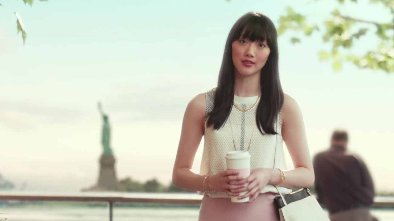 black mutual Hot liberty commercial on woman
